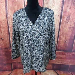 Chelsea & Theodore Floral Blouse